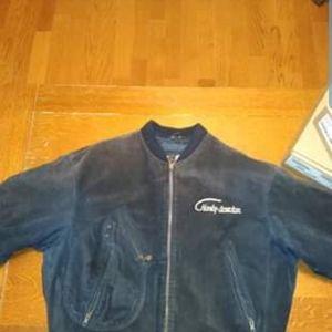 Harley Davidson suede leather jacket